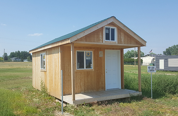 Kalispell Custom Sheds with Windows Doors Garage Doors and Insulated Floors